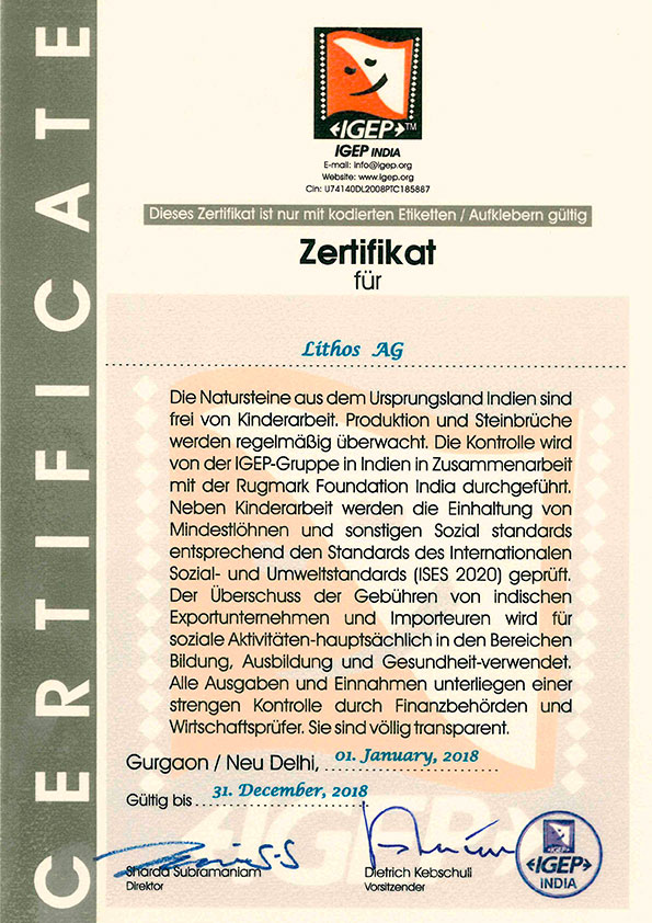 Lithos GmbH - Zertifizierte Grabsteine